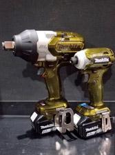 マキタインパクトレンチTW1001カーボンゴールドが完成!